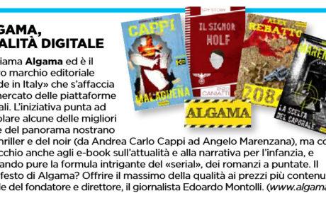 """Il settimanale Oggi su Algama: """"Qualità digitale"""""""