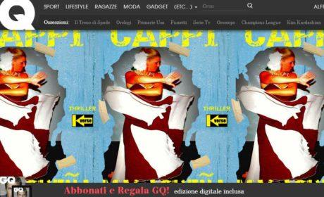 I racconti di Algama su Gq Italia