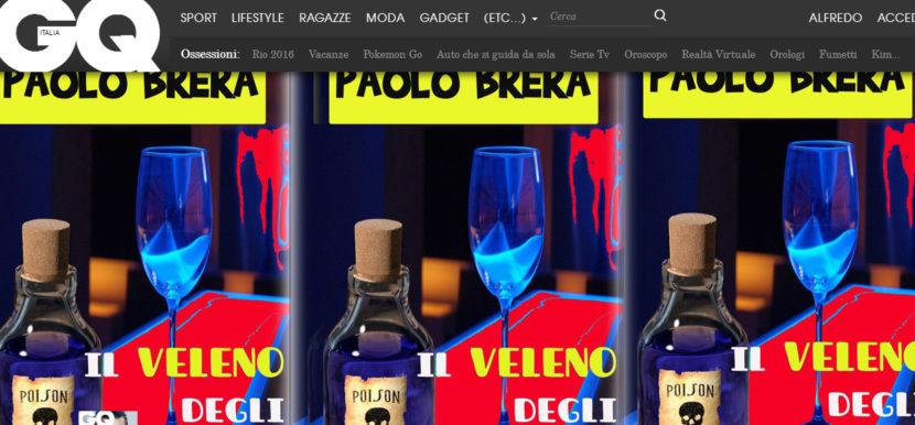 Paolo Brera, l'autore de Il Veleno degli Altri, su GQ!