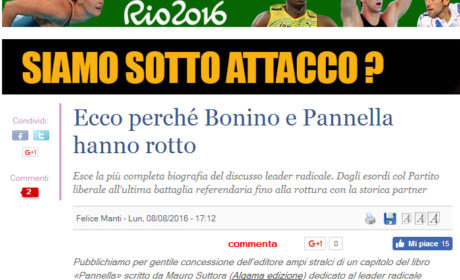 Su Ilgiornale.it l'approfondimento di PANNELLA, la biografia di Mauro Suttora per Algama