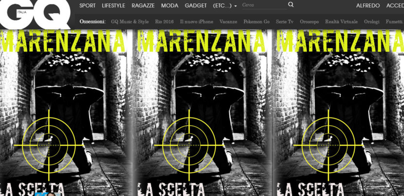 La scelta del Caporale, con un racconto di Angelo Marenzana, su GQ!