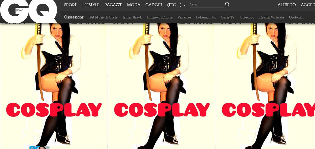 cosplay gq