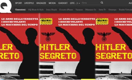 """Il capitolo sulla macchina del tempo di """"Hitler Segreto"""" su GQ!"""