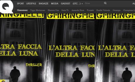 """In ESCLUSIVA sul sito di GQ un capitolo del thriller """"L'altra faccia della Luna"""""""