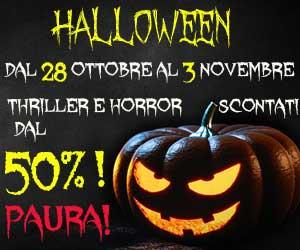 Halloween 2016, sconti da PAURA! Thriller e horror con sconti dal 50%!