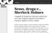 Sesso, droga e Sherlock Holmes: Enrico Solito ne parla su GQ!