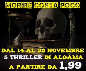 I 5 thriller di Algama in offerta dal 14 al 20 novembre!