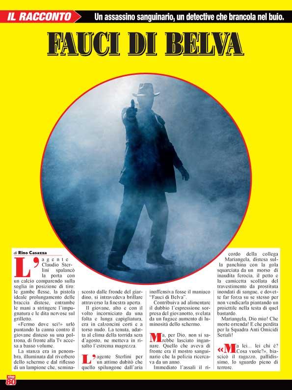 """Rino Casazza: """"Farò rivivere i grandi detective del giallo"""""""