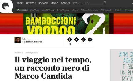 Su GQ si parla di Bamboccioni Voodoo 2, di Marco Candida