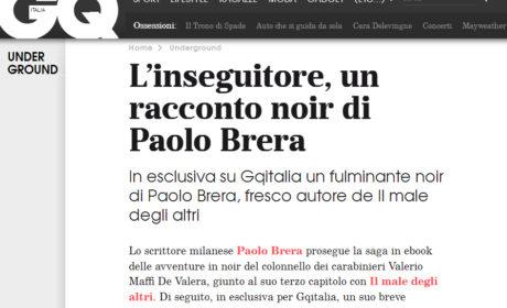 Su GQ un racconto di Paolo Brera festeggia l'uscita de IL MALE DEGLI ALTRI