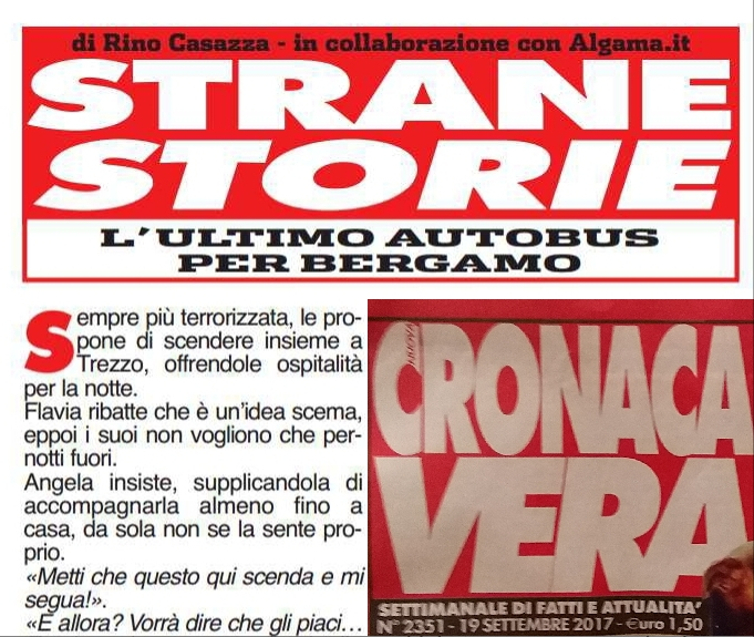 """Su Cronaca Vera la conclusione del racconto """"L' ultimo autobus per Bergamo"""" di Rino Casazza"""