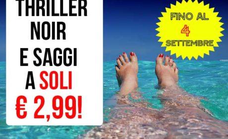 Fino al 4 settembre ben 29 titoli di Algama a SOLI 2,99 euro!