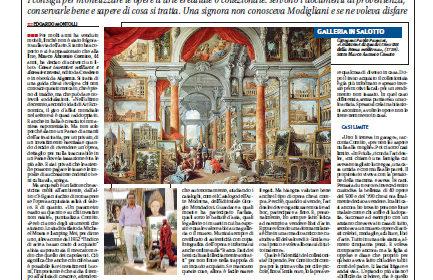 """Libero dedica un'intera pagina a """"Come investire nell'arte e dormire sereni"""""""