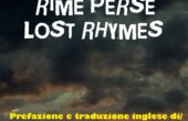 Rime perse / Lost rhymes